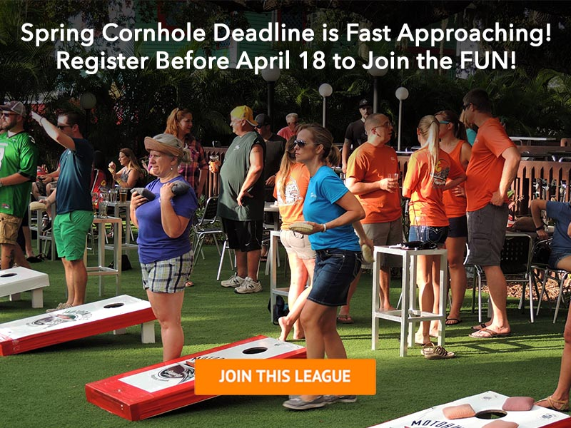 Spring 2017 Cornhole League