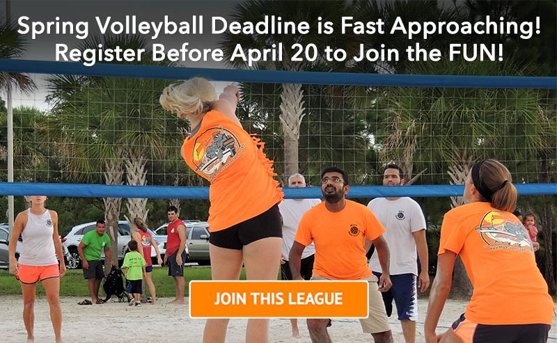 Spring 2017 Volleyball League